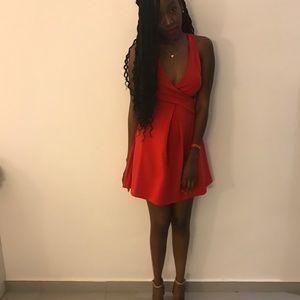 Express Side Cut-Out Dress